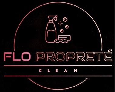 FLO PROPRETE CLEAN logo